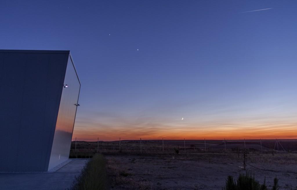 Conjunción-Jup-Venus-Luna -BAJA